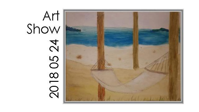 May 24, 2018 - Art Show